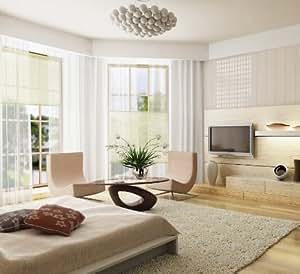 faltrollo easyplissee jalousie store pare soleil vert 60 x 130 cm cuisine maison. Black Bedroom Furniture Sets. Home Design Ideas