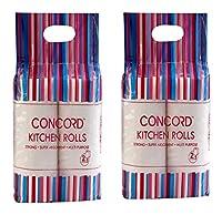 Concord Kitchen Tissue, White (Set of 2)