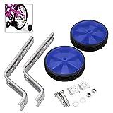 Universal para bicicleta ruedas de 12a 20inch ruedas niños bicicleta ruedas estabilizador, azul