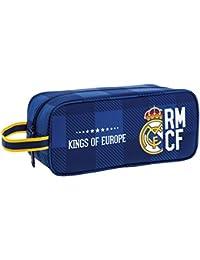 Safta Real Madrid Bolsa para Zapatos, 29 cm, Azul