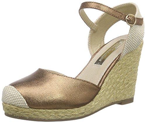 Xti 30190 Sandalo Donna Cinturino Alla Caviglia Marrone (bronce)