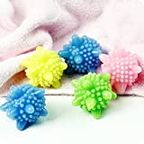 Chytaii Wäschebälle Waschmaschine Kleidung Ball Waschen Ball Reinigung Haarentfernung Bälle Zufällig Farbe 4 Stück