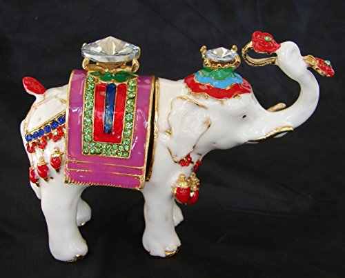 Feng Shui Import LLC-Elefant Statue Tragetasche RU Yi -