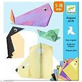 Origami facile Les animaux polaires Djeco