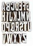 Sellos del libro de recuerdos de madera del alfabeto sello de la mano del sello Craved Bloque de imprenta Textil