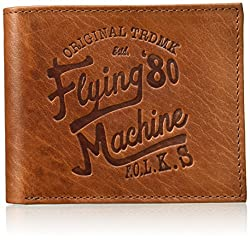 Flying Machine Brown Mens Wallet (FMAW0231)