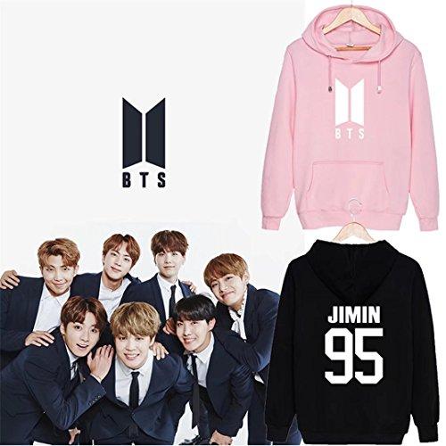Discovery Kpop BTS Hoodie Bangtan Boys Sweaters Jin JIMIN Suga Rap-Monster Long Sleeve Pullover Jackets