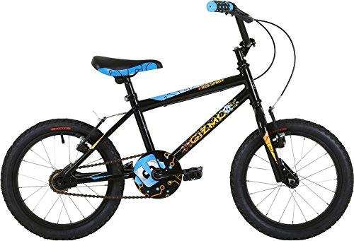 Skibrille FreeSpirit Gizmo 40,6cm Jungen Asphalt Bike schwarz (Schlanke Grafiken)