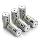 Best C Battery Chargers - EBL 6 Pack Industrial Battery Rechargeable C Size Review