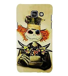 HiFi Designer Phone Back Case Cover Samsung A9 Pro :: Samsung A9 Pro Duos :: SamsungA9 Pro :: Samsung A9Pro ( Wicked Joker Coffee Smile )