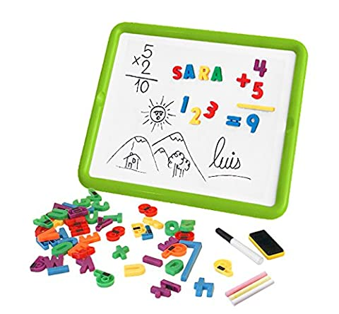 Miniland 97935–Magnetic Board Numbers et Letters Set