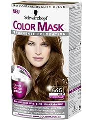 color mask coloration 665 chocolat clair la premire - Color Mask Chatain Clair