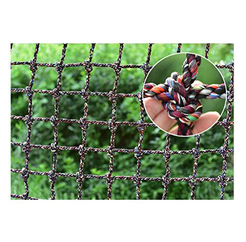 Outdoor-Kletternetz, Sport-Krabbelnetz Sicherheitsnetz Treppe Balkon Zaun Safe Net Ladung Strickleiter Netting Deckentrennnetz Kinder Erwachsene Gartendekoration Schaukel Trampolin Hängematte
