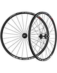 Miche Pistard-17 juego de ruedas, negro, 700c - tubeless