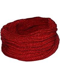 Women Winter Warm Infinity Scarves Ring Knitting Neckerchief