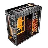 Aerocool Xpredator X3 Evil Black Edi. Midi-Tower Gaming-Gehäuse (micro-ATX, 3x 5,25 externe/interne, 1x 3,5 externe, 2x USB 3.0) schwarz/orange