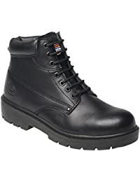 Dickies FA23333 Super Safety Antrim S1-P Safety Boots BK 5 Black