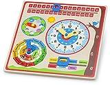 New Classic Toys 10601 Uhr und ewiger Kalender