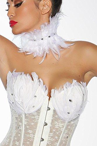 Black Swan / White Swan Corsage, Größe:L (Black Swan Sexy Kostüme)