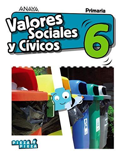 Valores sociales y cívicos 6 (pieza a pieza)