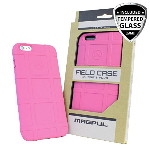 Limited Edition - [authentisches Made in USA] iPhone 6 Plus Schutzhülle, iPhone 6S Plus Fall, MAGPUL [Feld] Polymer Cover mag485 [Dropproof] für Apple iPhone 6/6S Plus 14 cm Zoll, MAG485 Pink