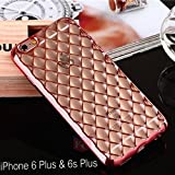 Best Iphone 6 Plus Case For Girls - KC Luxury Shinning Plating Fashion Soft Transparent Noble Review