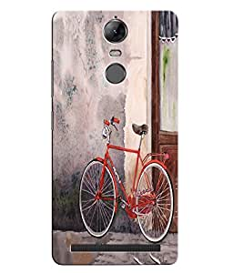 Citydreamz Bicycle Abstract Design Hard Polycarbonate Designer Back Case Cover For Lenovo K5 Note