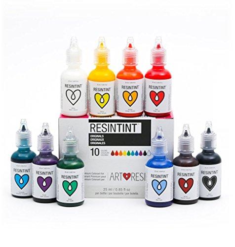 ResinTint - Flüssiges Pigment 10er Pack