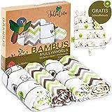 Tabalino ▪ Traumhaft Weiche Bambus Mullwindeln Spucktücher für dein Baby ▪...