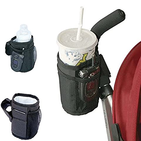 Pram Pushchair Stroller Accessories Buggy Cup Bottle Holder Nursing Bottle