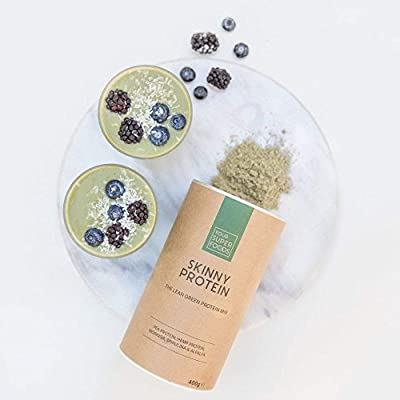 Your Superfoods Skinny Protein Superfood, organic moringa powder mix made from hemp protein, pea protein vegan, spirulina and alfalfa for weight loss and regeneration