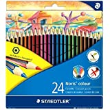 Staedtler 185 C24 - Lápices de colores (24 unidades), colores surtidos