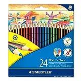 Staedtler 185 C24 Noris Colour Colouring Pencil - Assorted Colours - STAEDTLER - amazon.co.uk