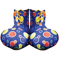 Dress Up America Kids Red Clown Shoe Covers