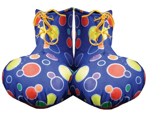dress up America Erwachsenen Clown Schuh Cover (gelb)