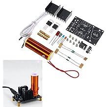 ILS - Kit DC 15-24V 2A elettronica fai da te mini musica Bobina di Tesla al plasma altoparlante del corno Produrre funzione ARC Music Player