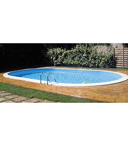 Gre kpeov5059 - piscina ovale interrata dim: 500x300 h 150