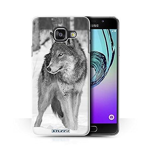 Coque de Stuff4 / Coque pour Samsung Galaxy A3 (2016) / Loup Design / Animaux de zoo Collection