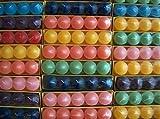 120 Votivkerzen Timtina ca 8-10 Düfte durchgefärbt viele Farben (120, ganzjahresdüfte Fruity)