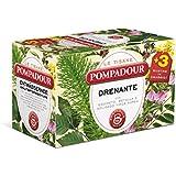 Pompadour - Le Tisane, Drenante, Pacco da  18X2 g, totale: 36 g
