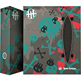 Grafoplás 88171936?Carpeta clasificadora con 4 anillas mixtas de 40 mm, diseño Skate Hans Tiessen