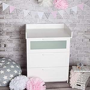 puckdaddy wickelaufsatz basic f r alle ikea brimnes kommoden wei baby. Black Bedroom Furniture Sets. Home Design Ideas