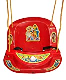 #5: GN Home Hanging Jhula Play Safe Swing Ride Seat Chair Bucket Outdoor / Indoor Rope Plastic Swinger Children Toddler
