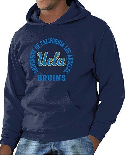 Adult Crewneck Fleece Sweatshirt (UCLA College Campus Farben Traditioneller Maler Bruins Erwachsene NCAA Team Spirit Sweatshirt mit Kapuze-Marineblau, Herren, Navy, XX-Large)