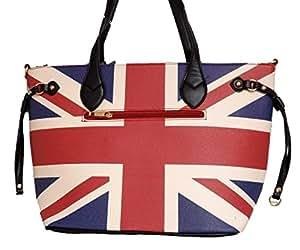 Sac Cabas sac à main à main fourre tout london drapeau anglais ideal rentrée scolaire grand model