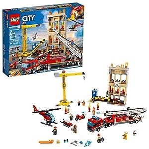 Lego City Pompiere Missione antincendio in Città 60216 (943 Teile) con Luce e Suono - 2019 0673419310789 LEGO