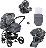 Hauck Pacific 4 SND And Bag, Travel System, 0 Months To 25 Kg
