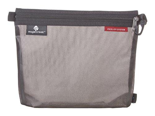 Eagle Creek Pack-It Original Sac platzsparende Packlösung mit Clip Wasserabweisender Kulturbeutel, M, schwarz -