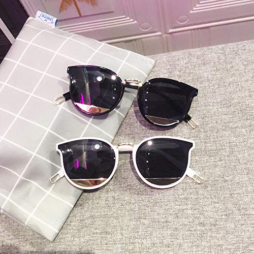Sonnenbrille Weibliche UV-Schutz Sonnenbrille Persönlichkeit Fashion Square Round Face Sonnenbrille Outdoor Sports Travel Driving Mirror-3