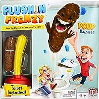 Juegos Mattel - Juego Baño Boom ¡Atrapa La Caca (FWW30) de Mattel